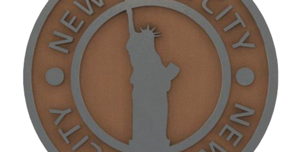 Porta Copo New York - 10x10cm