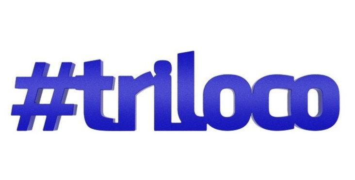 Palavra Decorativa Hashtag Triloco - 7x28cm