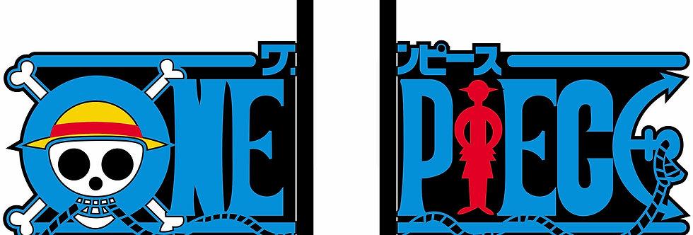 Aparador de Livro e CD - Logo One Piece
