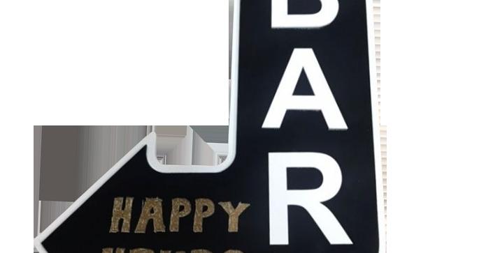 Quadro Happy Hours Bar - 46x26,5cm