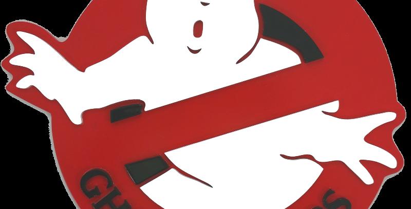 Quadro Decorativo GhostBusters Caça Fantasmas - 40x40cm