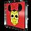 Thumbnail: Quadro Caveira Mexicana Minnie - 40x40cm