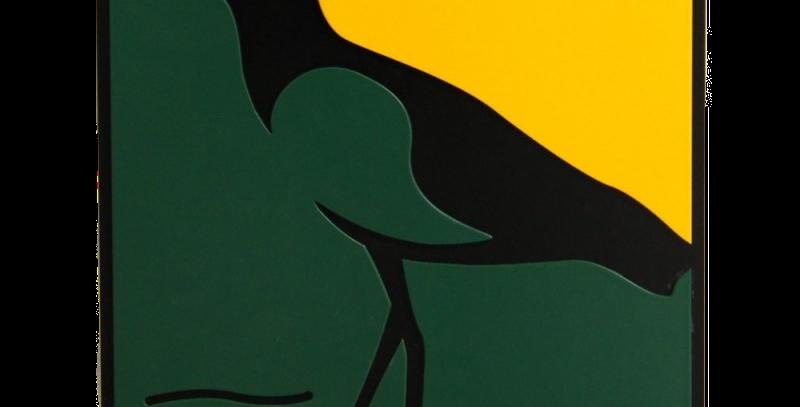 Quadro Pássaro QueroQuero - 30x30cm