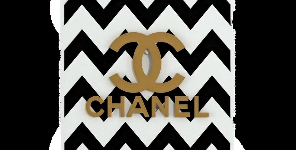 Quadro Chanel Brand - 40cm x 30cm