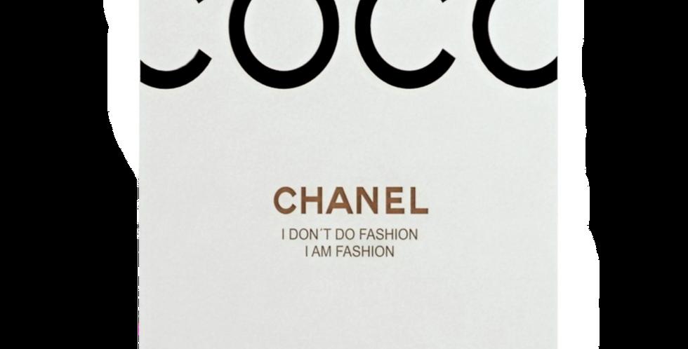 Quadro Coco Chanel - 40cm x 30cm