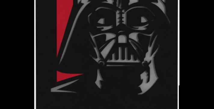 Quadro Darth Vader - 40x27cm