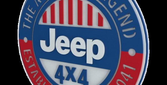 Quadro Jeep Legend - 40x40cm