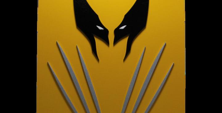 Quadro Decorativo do Wolverine- X-Men