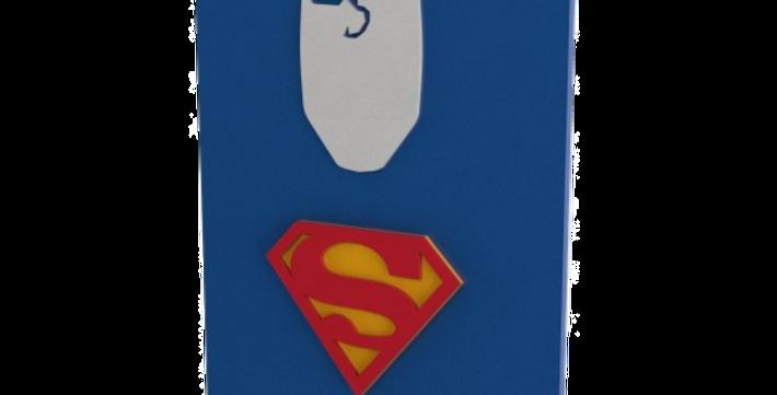 Quadro Decorativo Superman - 40x27cm