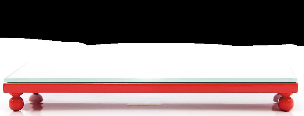 Bandeja Lavabo com Pé e Espelho - 3x12cm