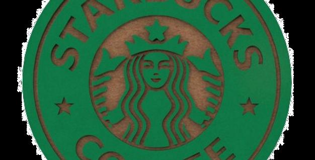 Porta Copo Starbucks - 10x10cm