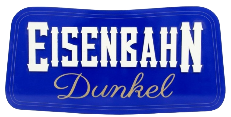Quadro de Bebida Eisenbahn dunkel - 23x47cm