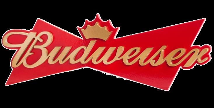Quadro de Bebida Budweiser Tam G - 28x83cm