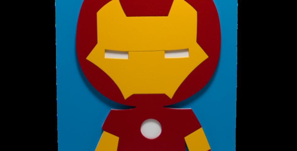 Lajotinha Homem de Ferro Kids 30x20cm