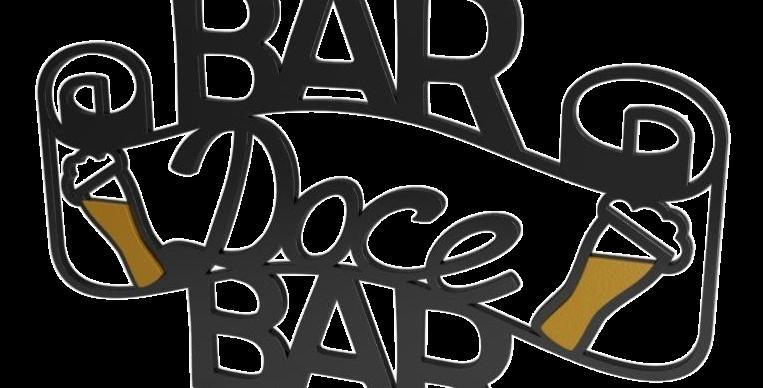 Aplique Bar Doce Bar - 26x40cm