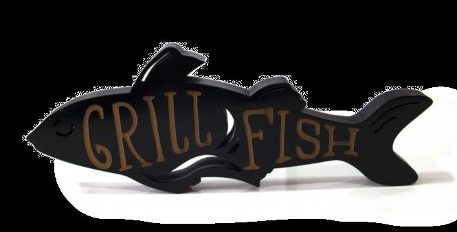 Objeto Grill Fish - 11,5x30,6cm