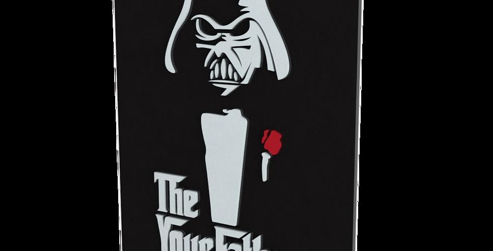 Quadro Star Wars TheYourFather Darth Vader - 40x30cm