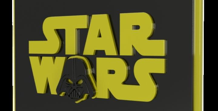 Quadro Star Wars Darth Vader - 40x35cm