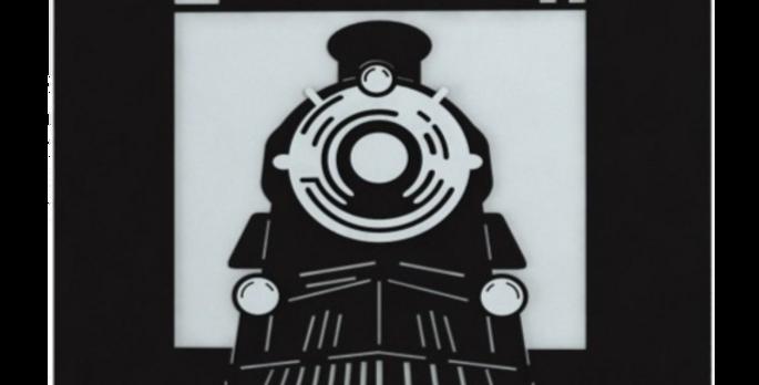 Quadro Eisenbahn - 40x40cm