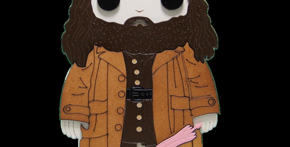 Boneco Hagrid - Harry Potter - 20x12,7cm