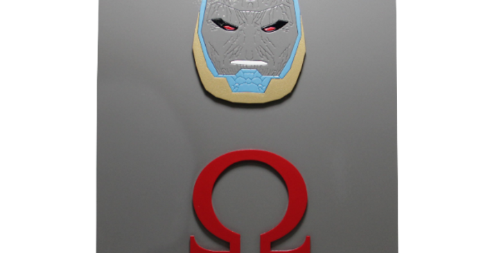 Quadro decorativo- Darkseid