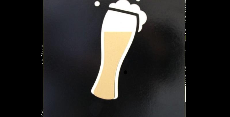 Quadro Drink Beer - 30x20cm