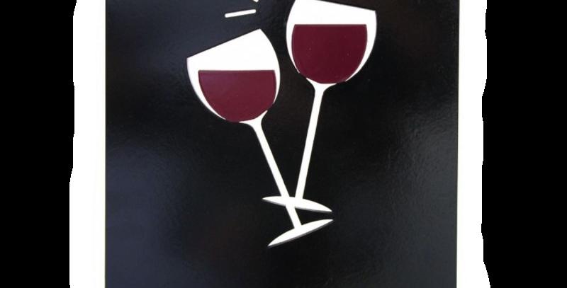 Quadro Drink Wine - 30x20cm