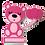 Thumbnail: Quadro Urso Menina - 30x30cm