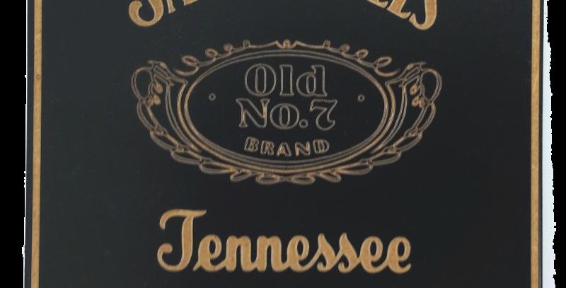 Porta Copo Quadrado Jack Daniels