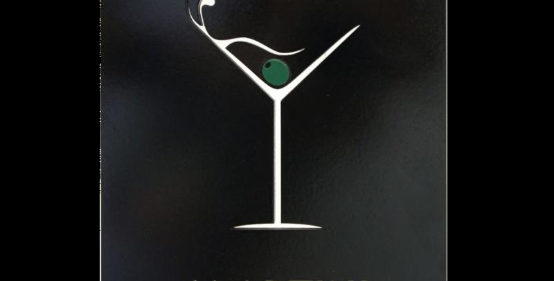 Quadro Drink Martini - 30x20cm
