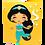 Thumbnail: Lajotinha princesa Jasmine 30x20cm