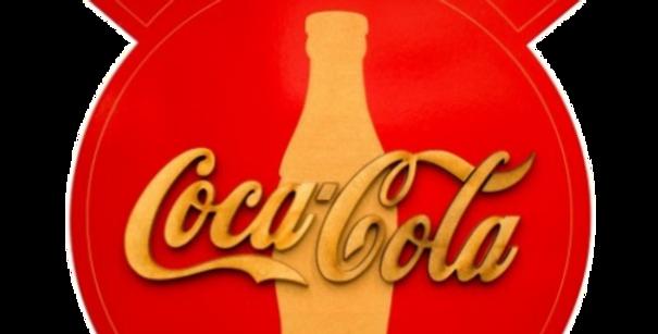 Quadro de Bebida Coca Cola - 40x34cm