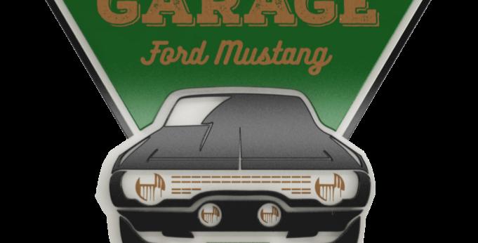 Quadro Garage - 40x34,7cm