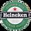 Thumbnail: Quadro de Bar Laqueado - Cerveja Heineken 3D- 40x40cm