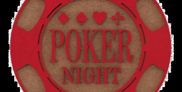 Porta Copo Poker - 10x10