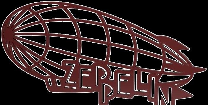 Quadro Zeppelin - 20x40cm