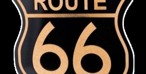 Quadro Route 66 Placa - 45x42,3