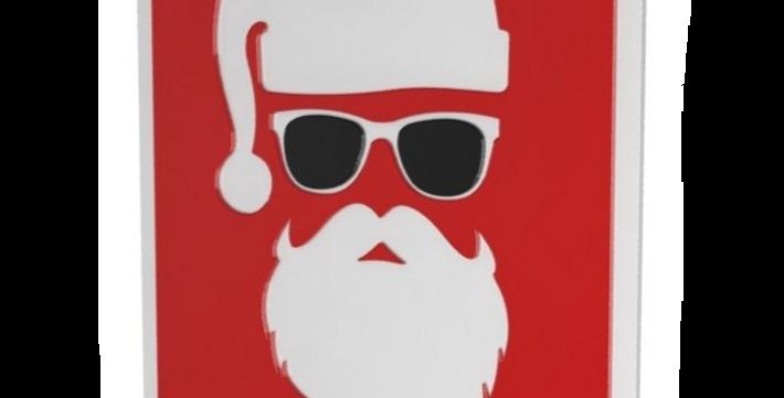 Quadro Santa Claus Pop - 50x24,1cm