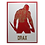 Thumbnail: Quadro Decorativo - Guardiões da Galaxia - Drax - 40x30cm