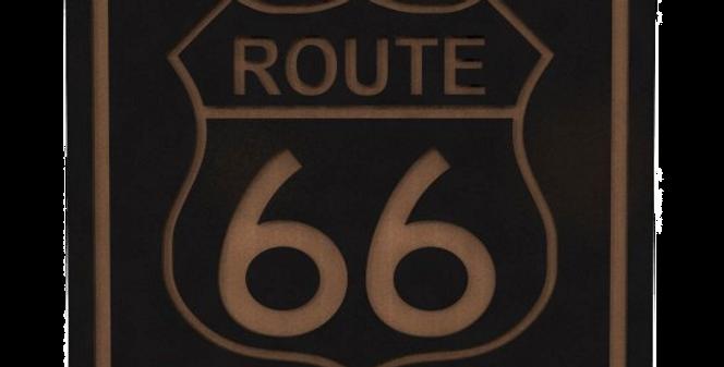 Porta Copo Quadrado Route 66