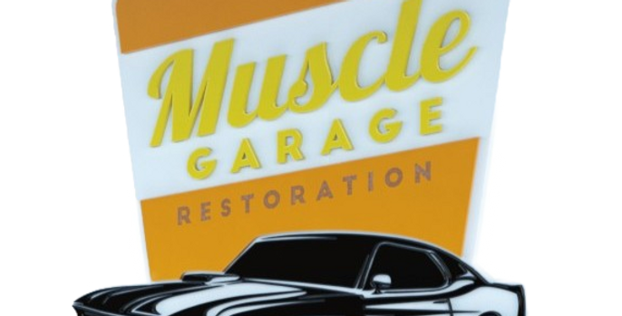 Quadro Muscle Garage Restoration - 40x37cm