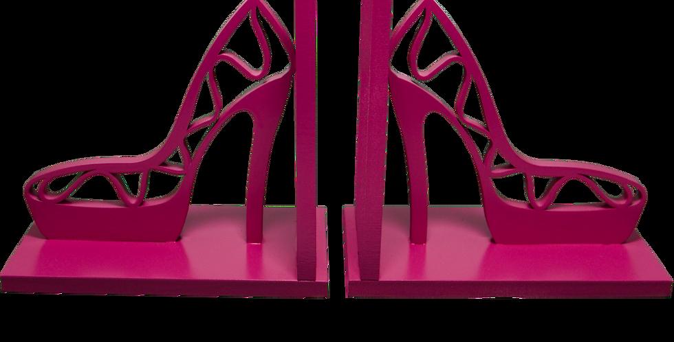 Aparador de livro Sapato feminino 15x16cm