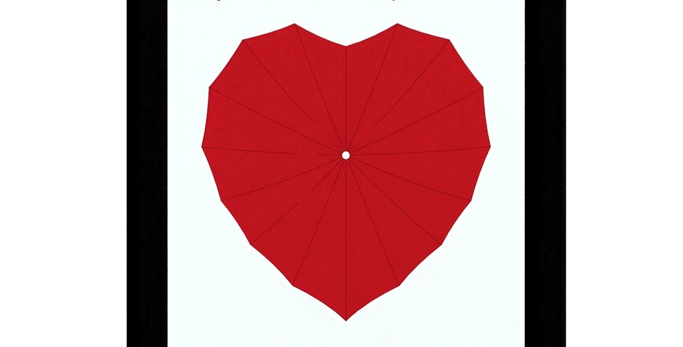 Quadro Espalhe Amor 40x30cm
