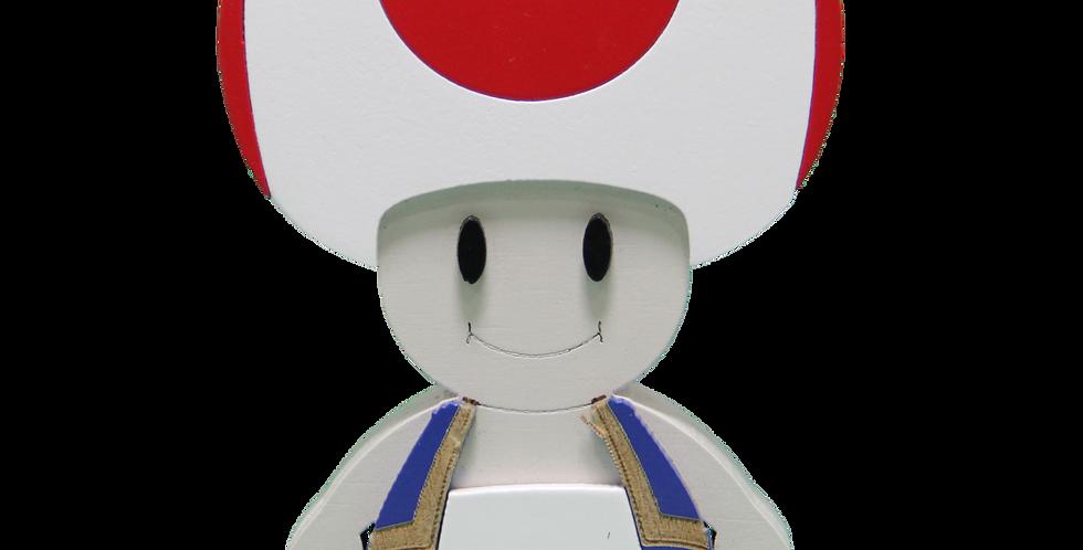 Adorno Cogumelo do Mario 3/9mm
