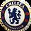 Thumbnail: Quadro de Bar Laqueado - Time Chelsea - 40x40cm