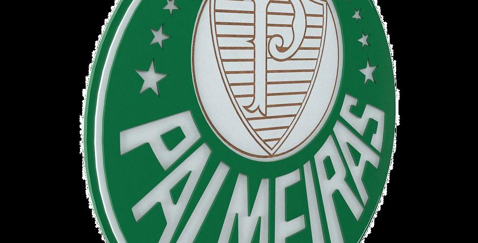 Quadro de Bar Laqueado - Time Palmeiras- 40x40cm