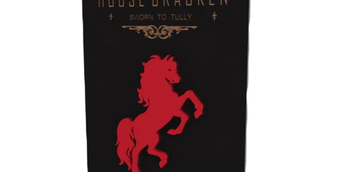 Quadro Game of Thrones Braken - 40x25,8
