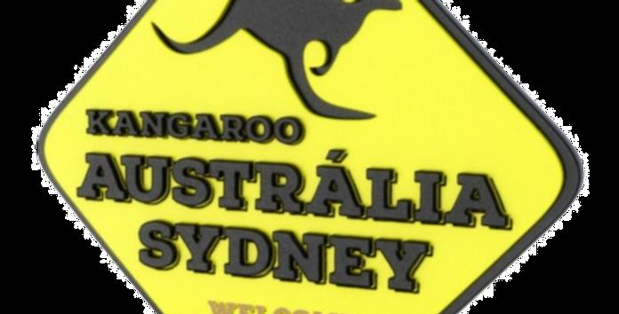 Quadro Austrália Sydney - 40x40cm