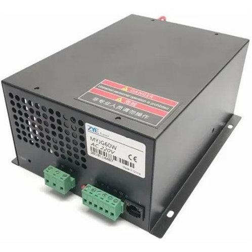 Fonte Laser 60w Para Maquina De Corte Laser