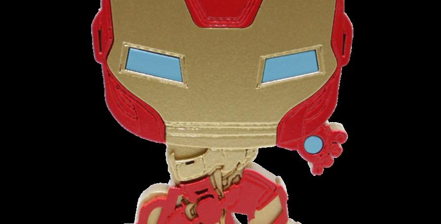 Boneco Laqueado- Geek- IRON MAN